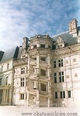 Treppe des Schlosses von Blois